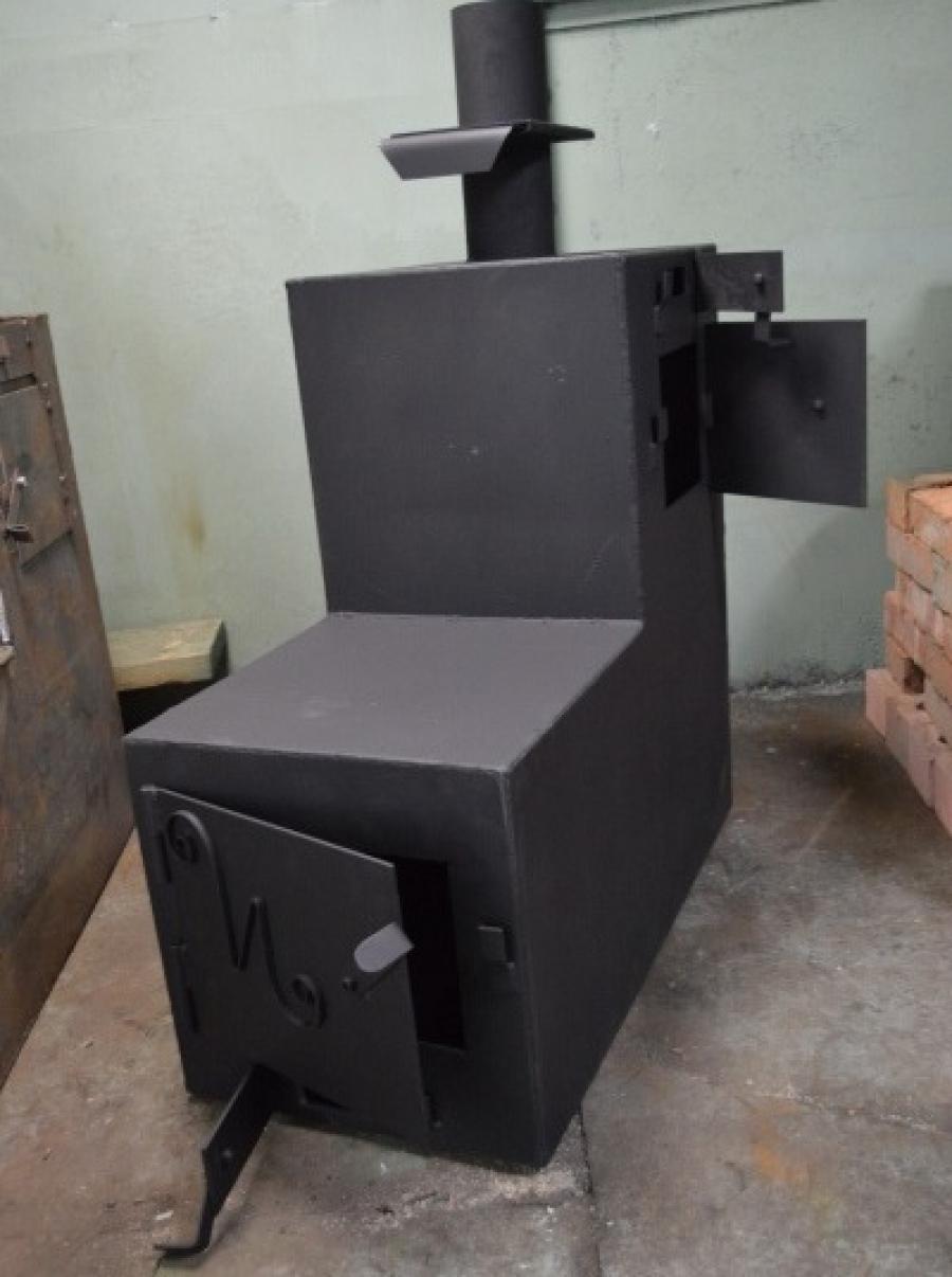 Фото печь для бани из металла