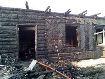 Пожар в Еманжелинском районе унес жизни двух человек