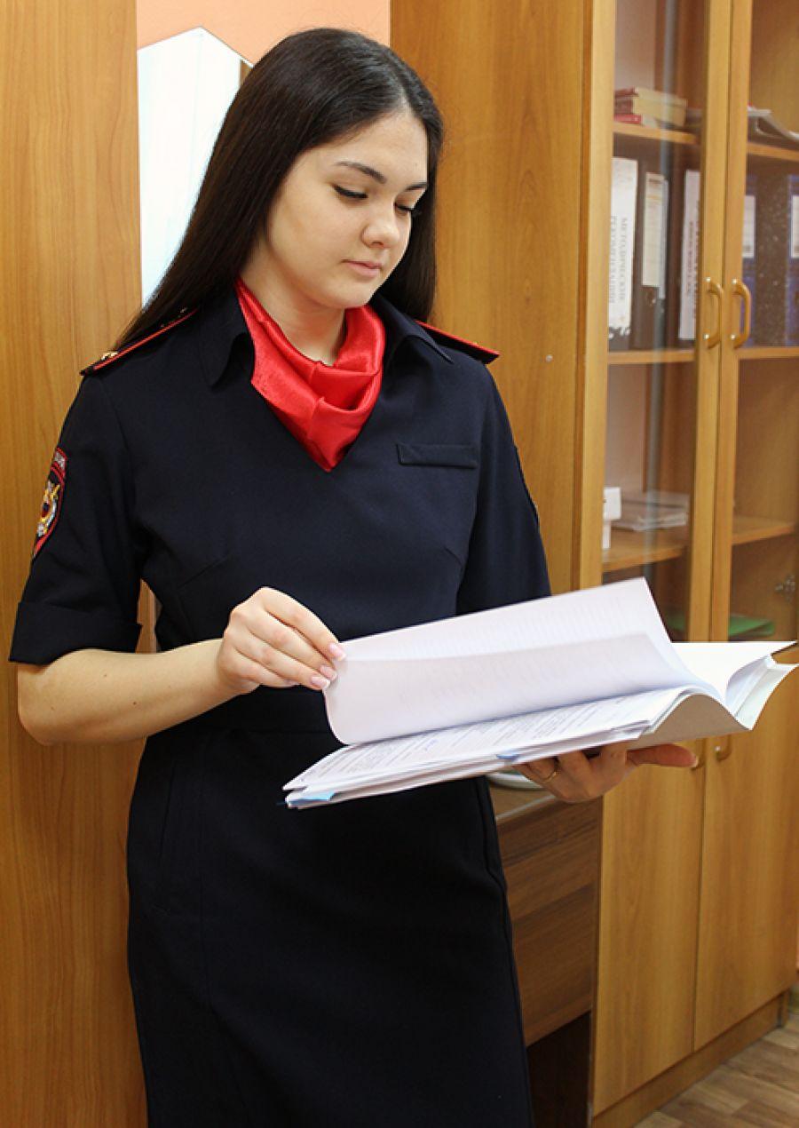 Лейтенант полиции Маргарита Евстафеева из Еманжелинска не пожалела, что выбрала профессию дознавателя