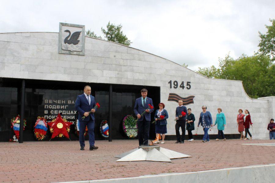 В Еманжелинске отметили День памяти и скорби