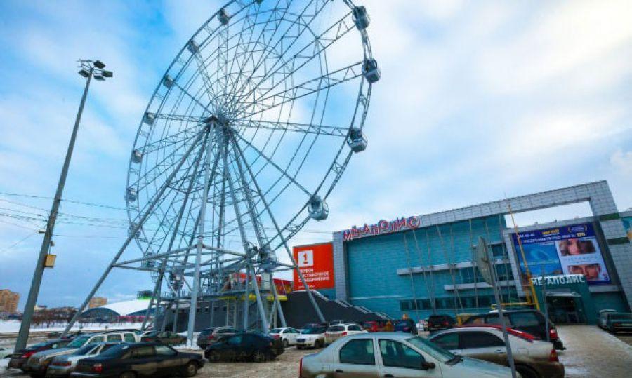 Новое колесо обозрения вЯрославле будет одним изсамых высоких в Российской Федерации