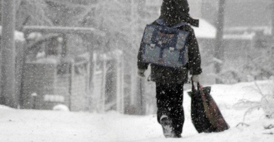 Младшеклассники первой смены вТюмени остались дома из-за морозов