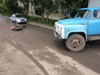В Еманжелинске в ДТП пострадал подросток