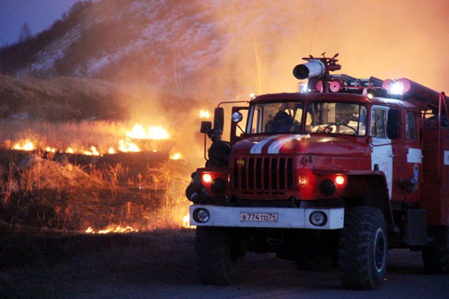 За три недели июня в Еманжелинском районе зарегистрировано семь пожаров