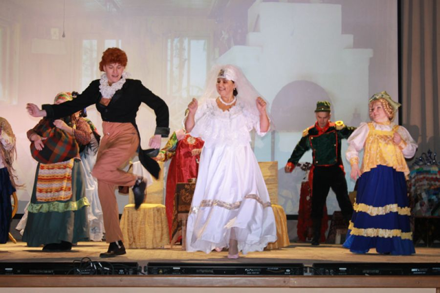 Еманжелинский театр-студия «Ретро» ДК им. Пушкина отметил свое пятилетие
