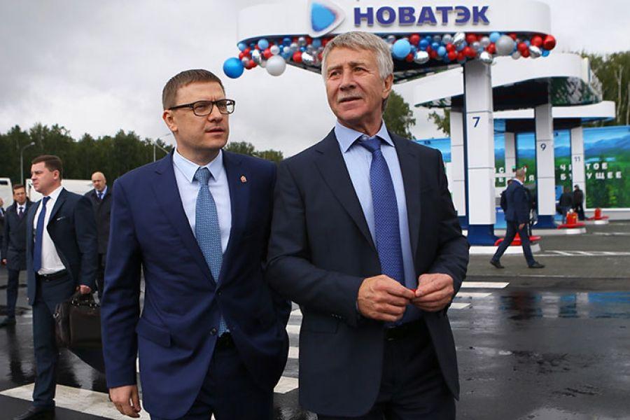 В Челябинской области открыли первый в России многотопливный автозаправочный комплекс