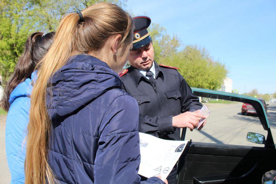 Работники ГИБДД Оренбурга провели акцию «Сохрани жизнь! #Сбавь скорость»